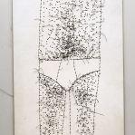 Threads, Paper 14 x 9 cm 2008